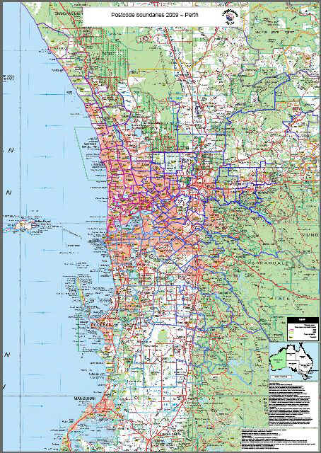 Map Of Perth Wa Perth Searchable Map Organisational License   MapMakers Australia