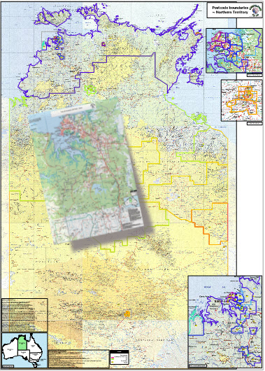 Australia Map Nt.Pro Nt Searchable Map Small Business Limited Licence