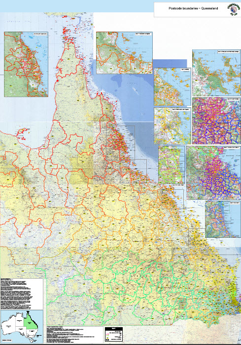 Map Queensland.Standard Qld Searchable Map Small Business Licence
